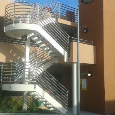Escalera parking AERIAL FARM