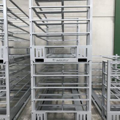 Jaula para trasporte avícola-2