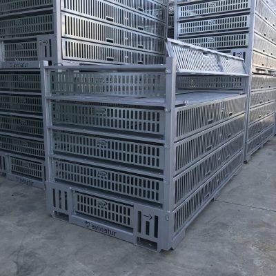 Jaula para trasporte avícola