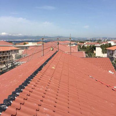 Panel tipo teja cubierta edificios-1