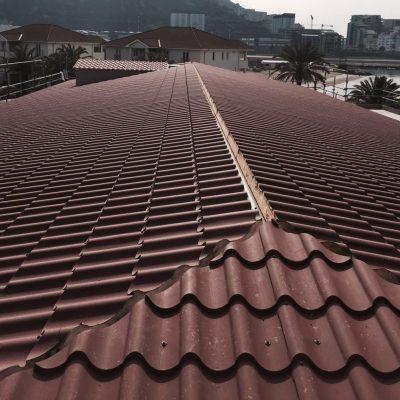 Panel tipo teja cubierta edificios-3